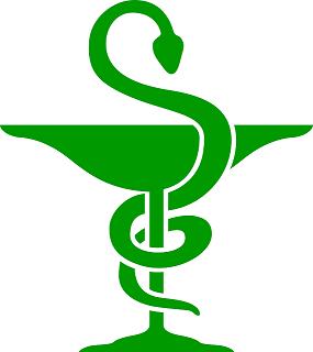 Copa de Higía: serpiente como símbolo de farmacia