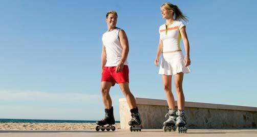 Regala unos patines y vuestro amor irá sobre ruedas