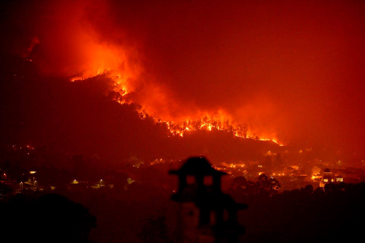 Longa noite de lume (cómo actuar en caso de incendio)